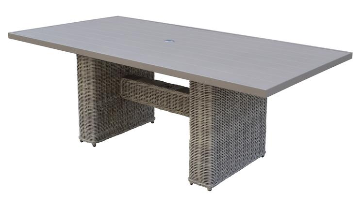 Coast Rectangular Outdoor Patio Dining Table [Item # COAST-DTREC-DINING-TABLE]