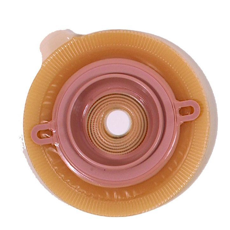 Assura Convex Skin Barrier Flange With Belt Loops, Size 1 in. Stoma, Color Red