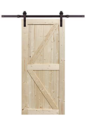 Northbeam Artisan Sliding Door 36 Kit, Unfinished With Sliding Door Hardware [Item # COV0301901910]