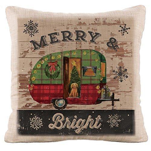 Christmas Plaid 18X18 Pillow