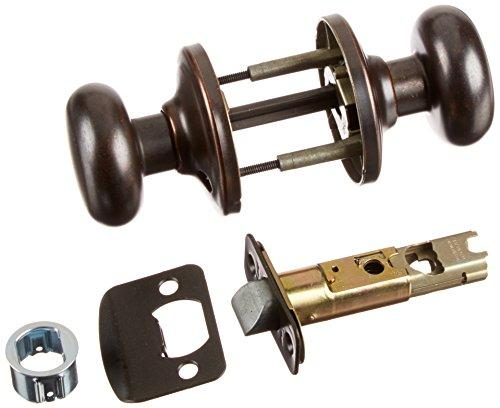 Kwikset CP720J-501 Clear Pack Juno Passage Lock Rustic Bronze Finish - [CP720J-501]