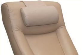 Top Grain Leather Cervical Pillow