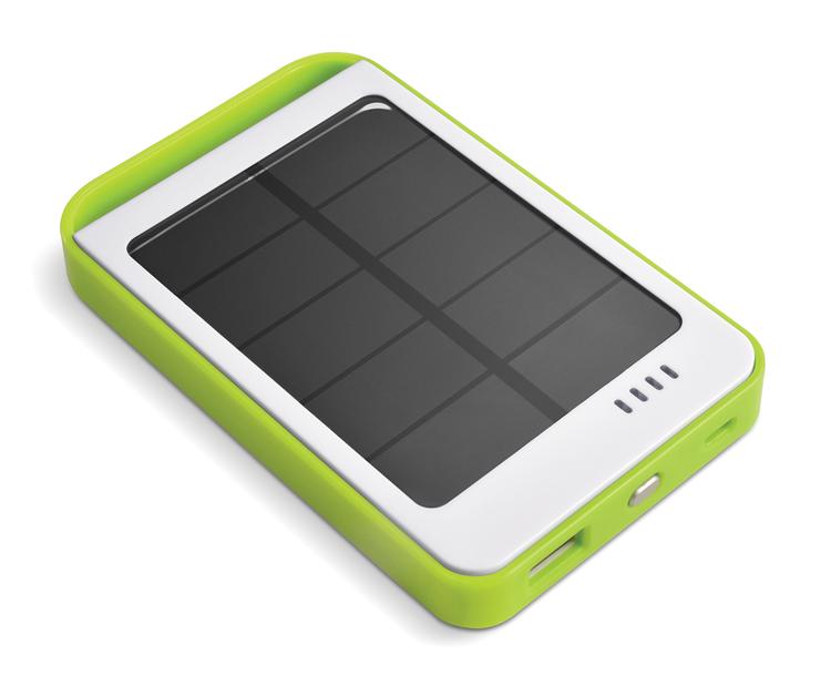 Portable Solar Battery Bank Green