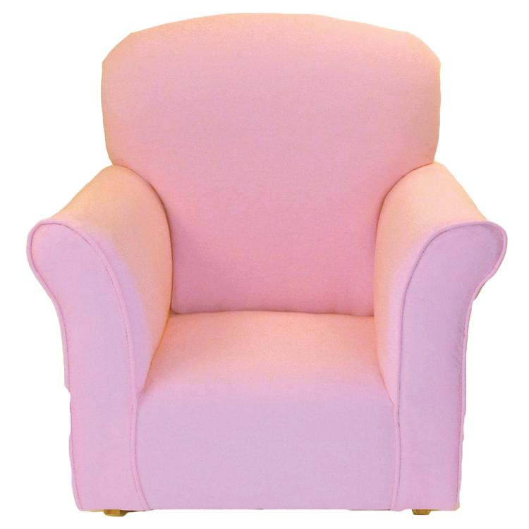 Brighton Home Toddler Rocker in Baby Pink
