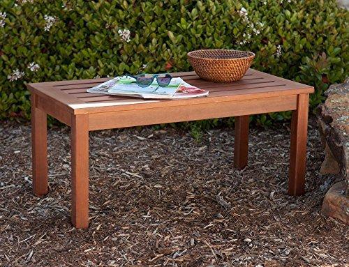 Southern Enterprises Beagan Hardwood Cocktail Table