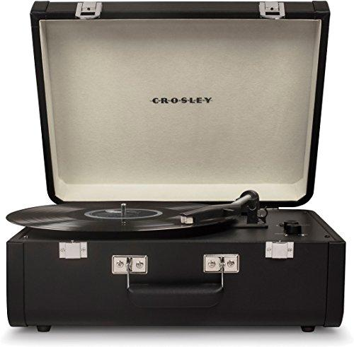 PORTFOLIO PORTABLE TURNTABLE WITH BLUETOOTH BLACK/BLACK