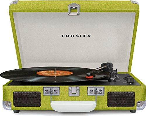 Crosley Cruiser Deluxe Vintage Bluetooth Turntable