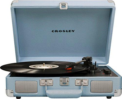 Crosley Cruiser Deluxe Vintage Bluetooth Turntable
