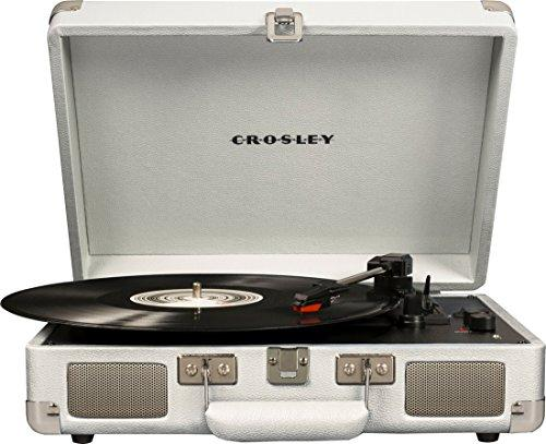 Crosley Cruiser Deluxe Vintage Bluetooth Turntable [Item # CR8005D-WS]