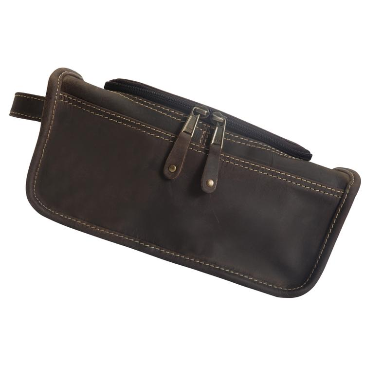 687726c9b Canyon Outback Leather Taylor Falls Leather Toiletry Bag - Distressed Brown  - [CS449-44