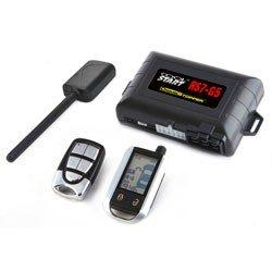 CRIMESTOPPER RS7-G5 Cool Start(TM) 2-Way FM/FM LCD Paging Remote-Start & Keyless-Entry System with Trunk Pop
