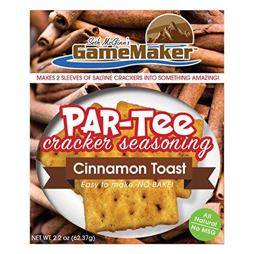 Game Maker PAR-TEE Cracker Seasoning - Cinnamon Toast