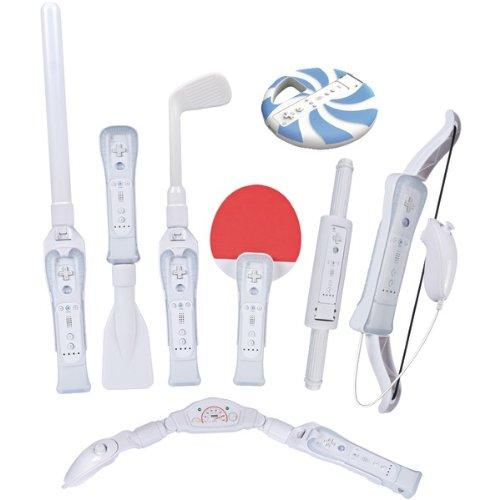 CTA Wi-8SR Nintendo Wii(R) 8-in-1 Sports Pack for Wii Sports Resort(R) (White)