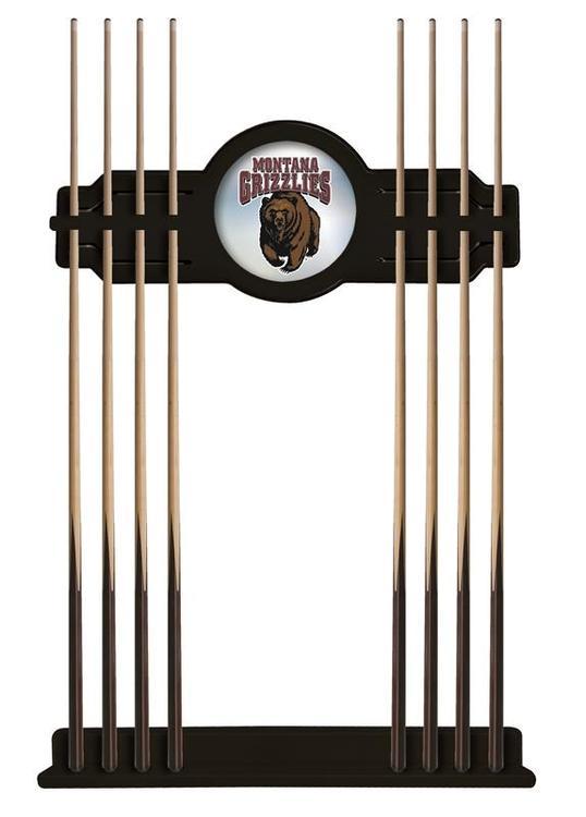 Montana Cue Rack in Black Finish