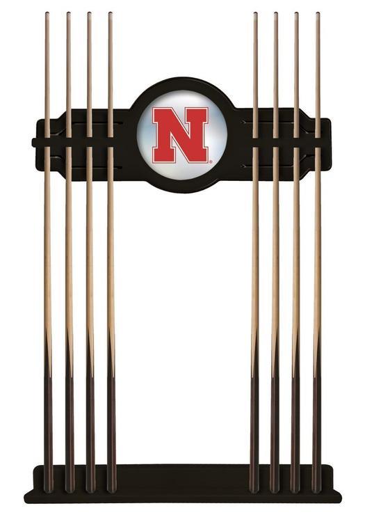 Nebraska Cue Rack in Black Finish
