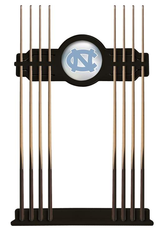 North Carolina Cue Rack in Black Finish [Item # CueBKNorCar]