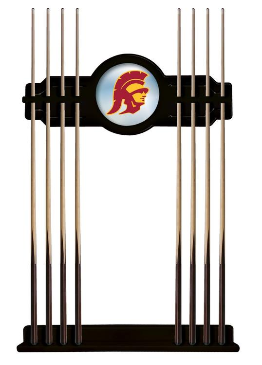 USC Trojans Cue Rack in Black Finish
