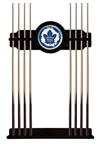 Toronto Maple Leafs Cue Rack in Black Finish