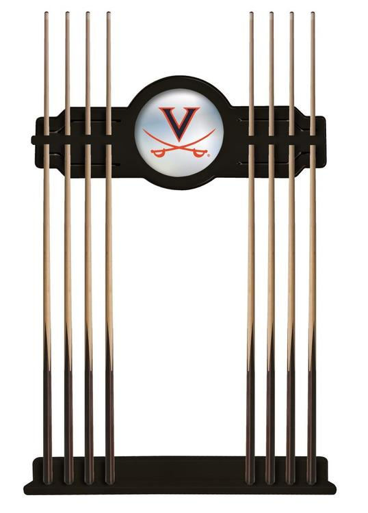 Virginia Cue Rack in Black Finish [Item # CueBKVrgnia]