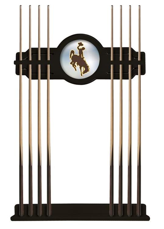 Wyoming Cue Rack in Black Finish