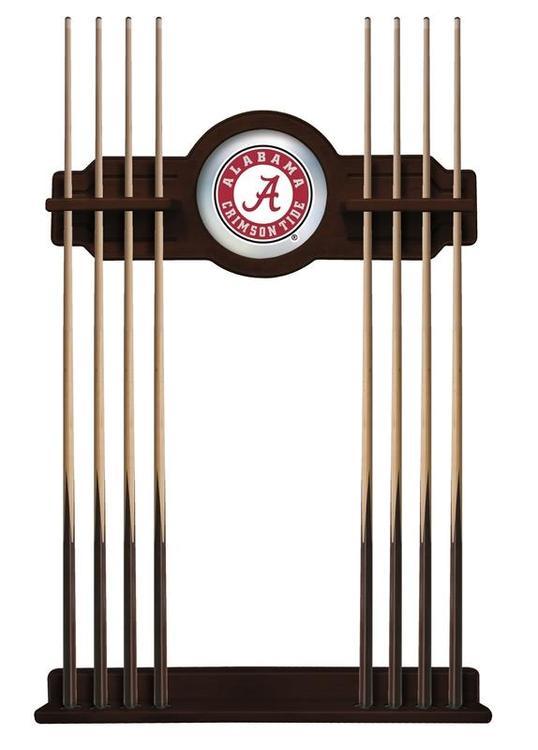 Alabama Cue Rack in English Tudor Finish