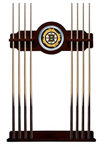 Boston Bruins Cue Rack in English Tudor Finish