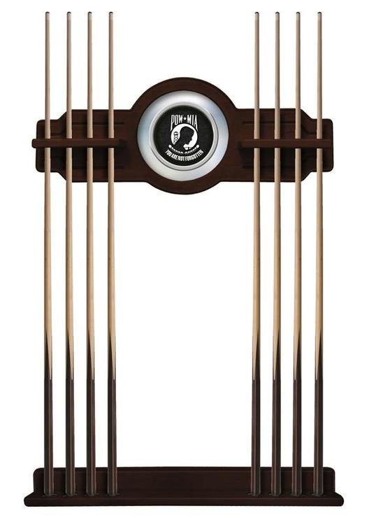 POW/MIA Cue Rack in English Tudor Finish