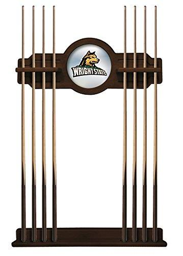 Wright State Cue Rack in Navajo Finish