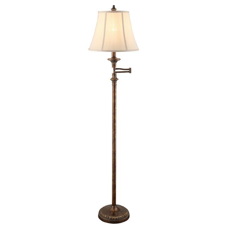 Barton Swing Arm Floor Lamp