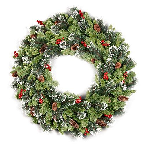 National Tree Crestwood Spruce Wreath