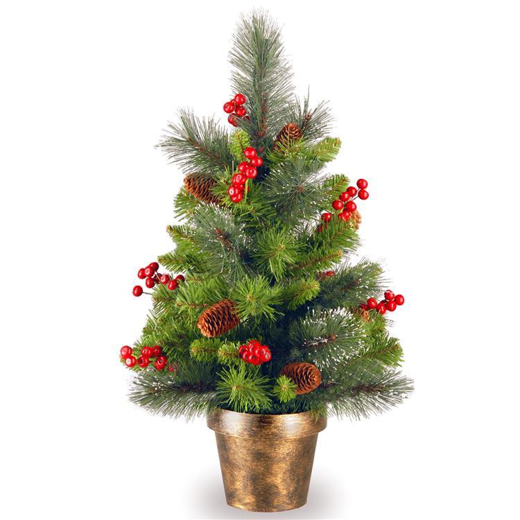 National Tree 2 ft Crestwood Spruce Tree [Item # CW7-701-20]
