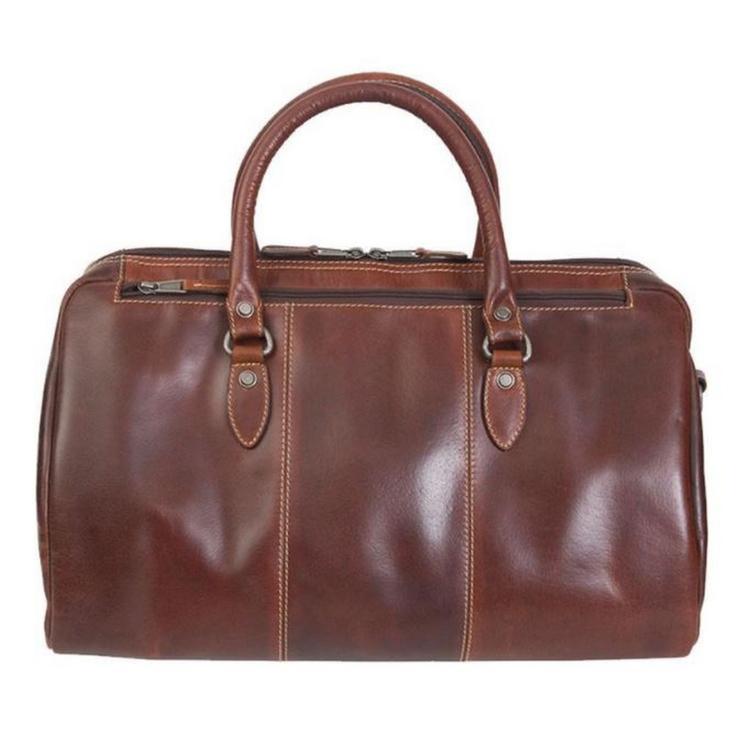 Canyon Outback Niagara 18-inch Leather Duffel Bag