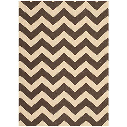 Transitional Rug - Courtyard 6000 Polypropylene -Dark Brown