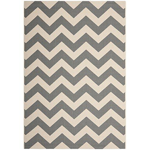 Transitional Rug - Courtyard 6000 Polypropylene -Grey/Beige