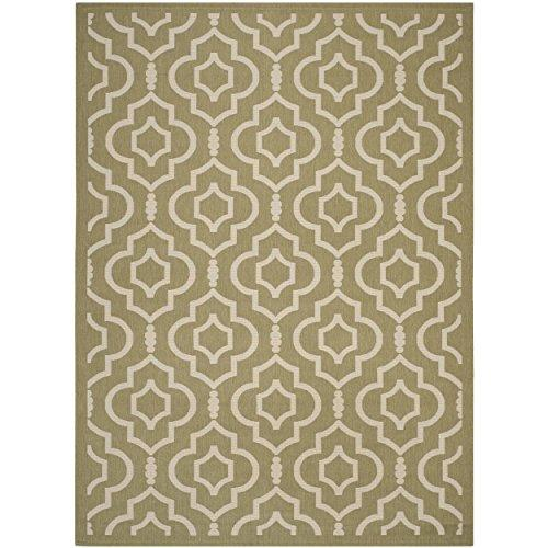 Transitional Rug - Courtyard 6000 Polypropylene -Green/Beige