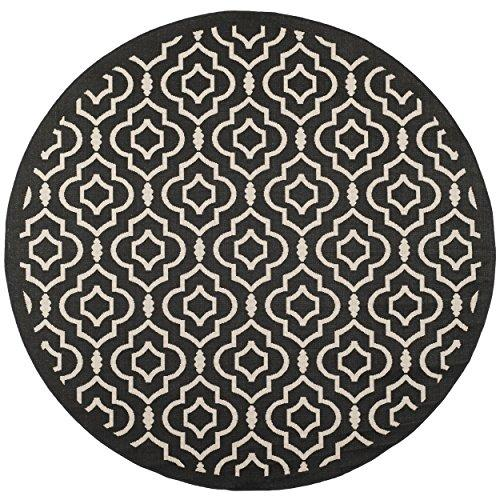 Transitional Rug - Courtyard 6000 Polypropylene -Anthracite/Beige