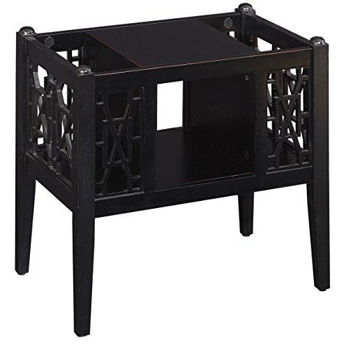 Powell Layla Magazine Table Black