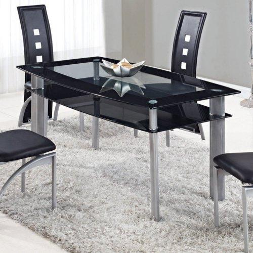 Global Furniture Dining Table Black