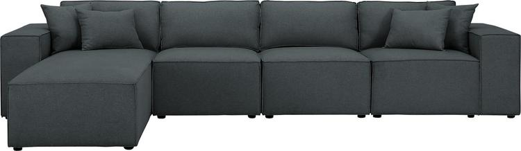 Lilola Home Ermont Sofa with Reversible Chaise [Item # D6017-5]