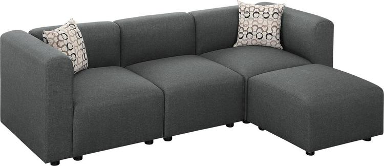 Lilola Home Hillsby Sofa with Ottoman