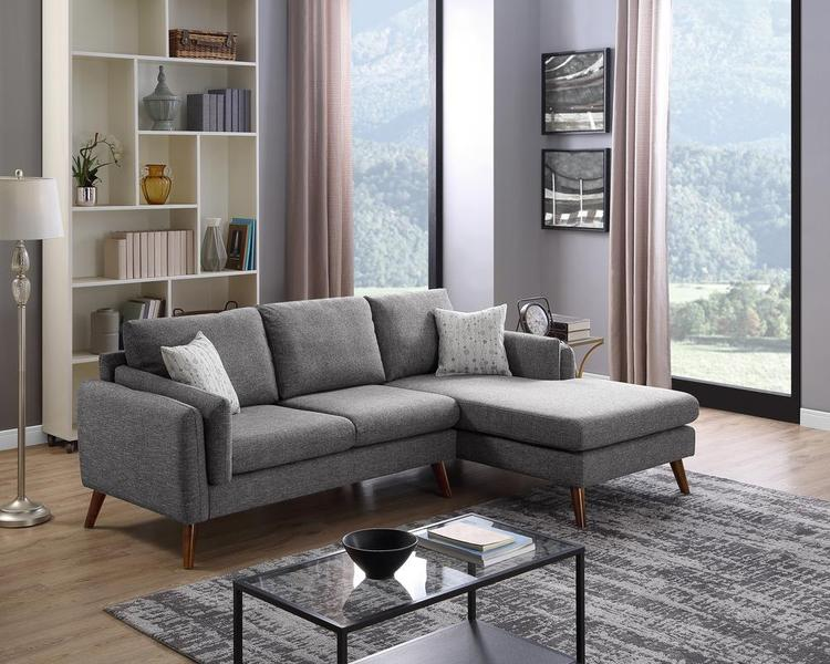 LILOLA Founders Fabric Sectional Sofa [Item # D6128]