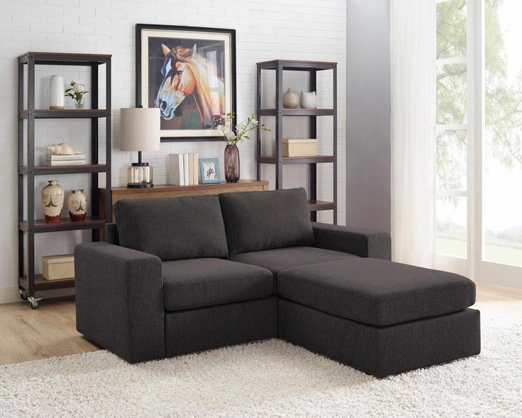 Lilola Home Arroyo Loveseat with Ottoman