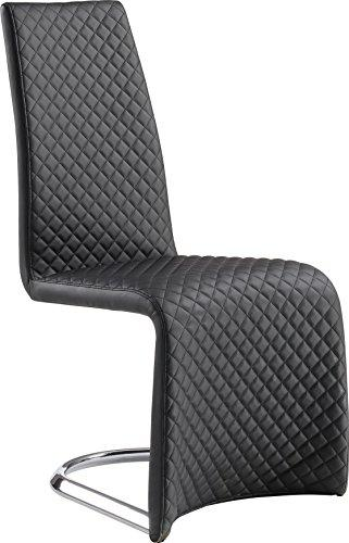 Global Furniture Dining Chair Black Pu