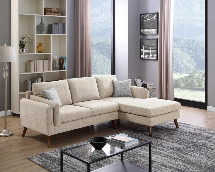 LILOLA Founders Fabric Sectional Sofa [Item # D6999]