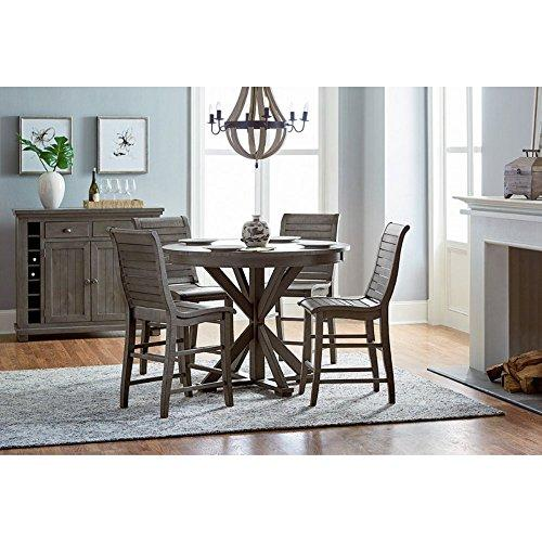 Progressive Furniture D801-15B/15T Willow Round Counter Table
