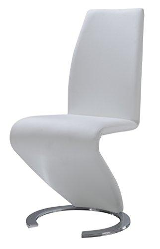 Global Furniture Dining Chair White Pu