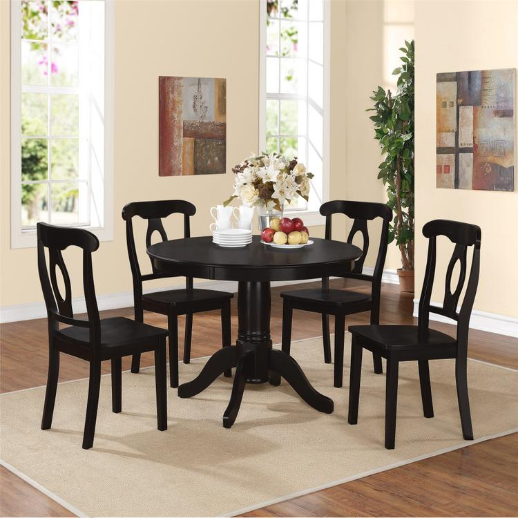 Dorel Living Aubrey Pedestal Dining Set [Item # DA7104B]