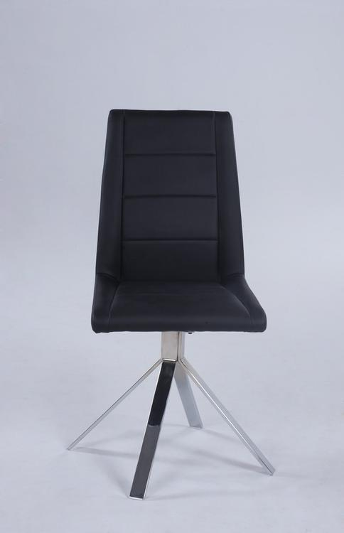 Channel Back Pyramid Base Chair