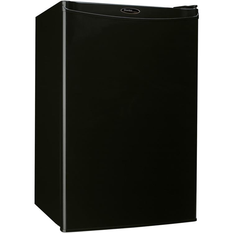 Danby Designer Energy Star 4.4-Cu. Ft. Counter-High All Refrigerator in Black