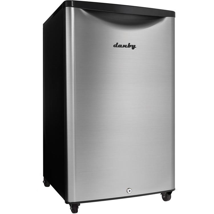 Danby Outdoor 4.4-Cu. Ft. Compact All-Refrigerator with Spotless Steel Door